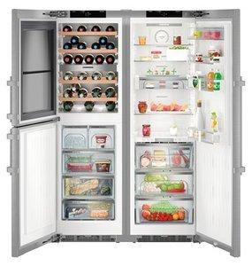 Хладилник с фризер Liebherr SBSES8486(SWTNes4265+SKBES4360) , 645 l, A++ , No Frost